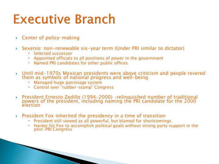Executive Branch