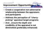improvement opportunities1