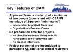 key features of cam1
