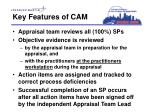 key features of cam2