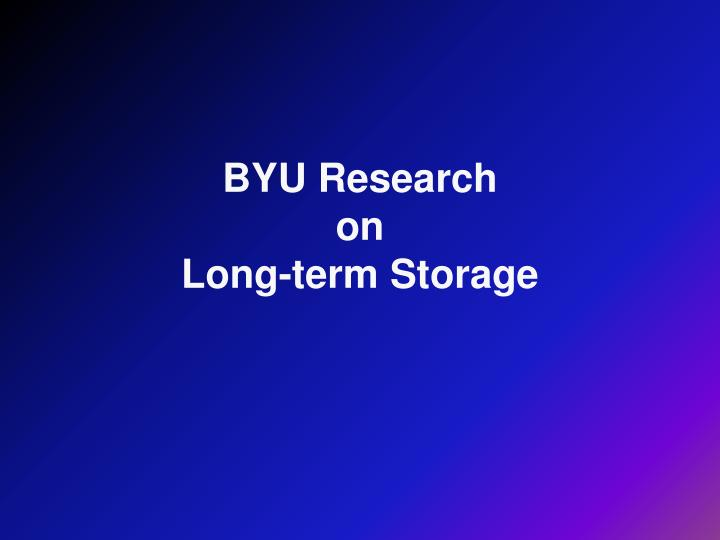 BYU Research