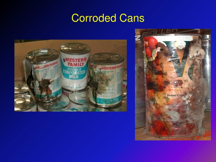 Corroded Cans