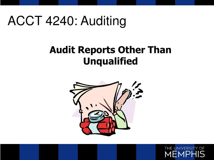 Acct 4240 auditing
