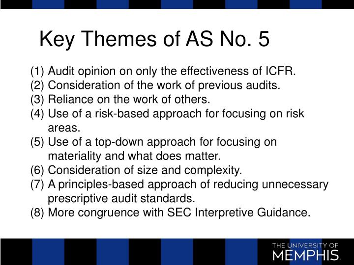 Key Themes of AS No. 5