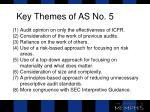 key themes of as no 5