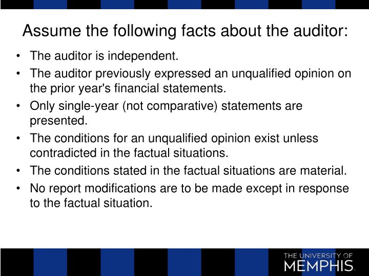 The auditor is independent.