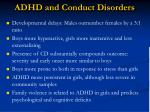 adhd and conduct disorders