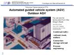 fahrerlose transportsysteme fts automated guided vehicle system agv outdoor agv