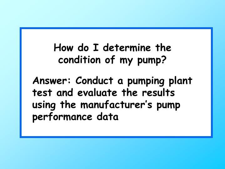 How do I determine the