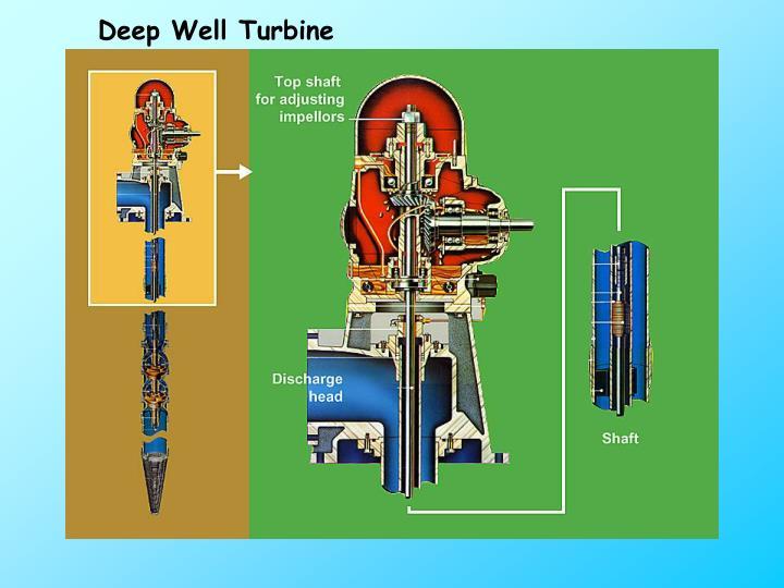 Deep Well Turbine