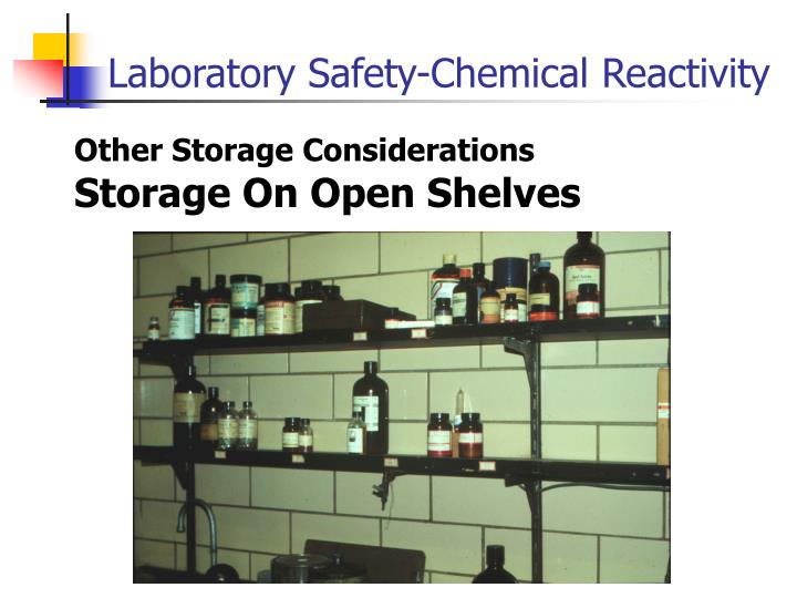 Other Storage Considerations