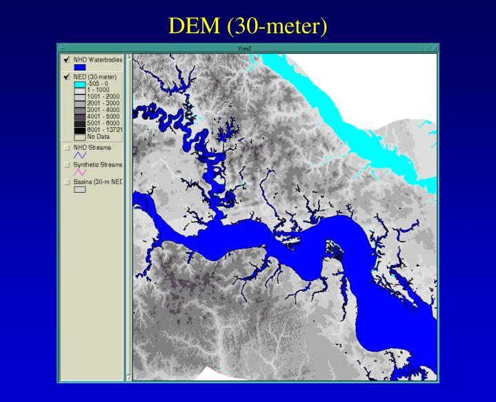 DEM (30-meter)
