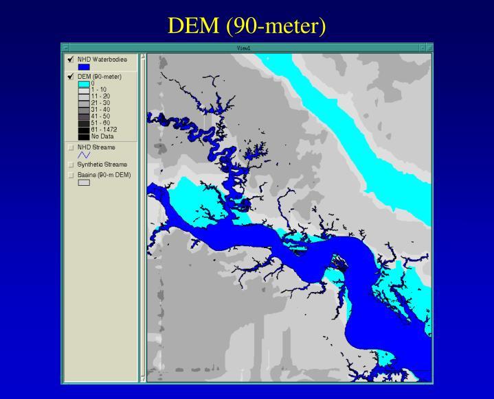 DEM (90-meter)