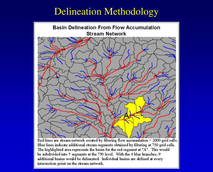Delineation Methodology