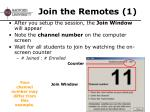 join the remotes 1