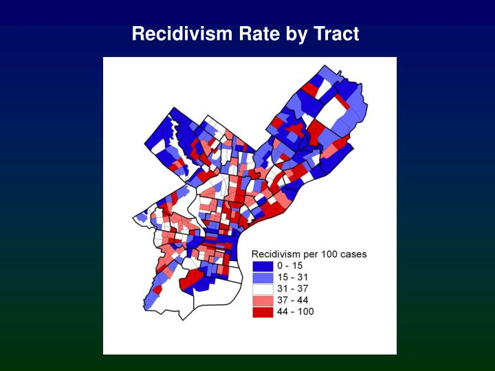 Recidivism Rate by Tract