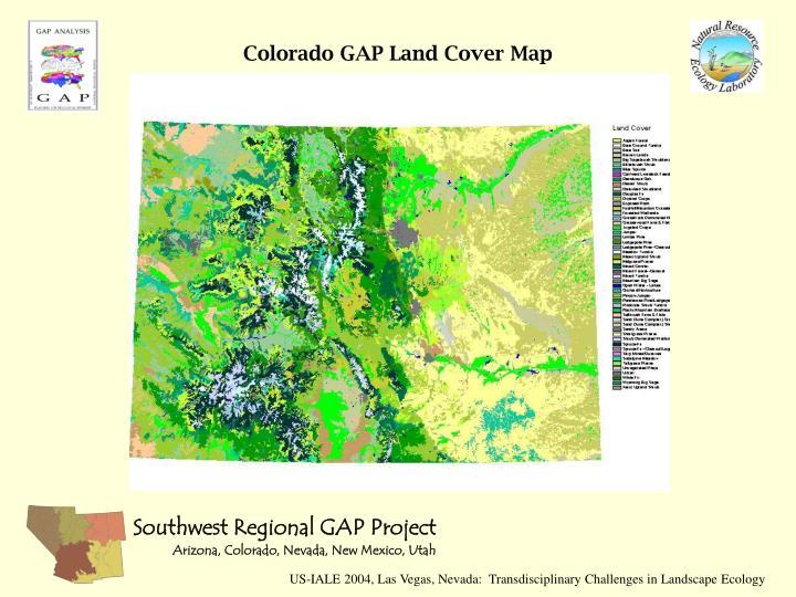 Colorado GAP Land Cover Map