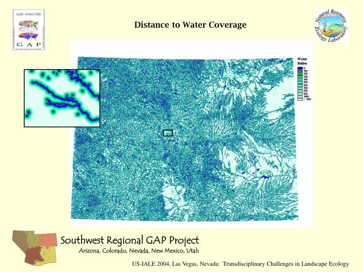 Distance to Water Coverage