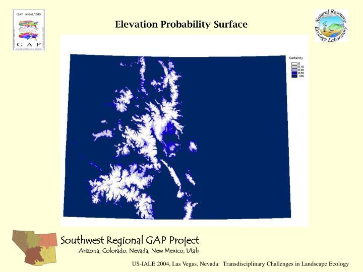 Elevation Probability Surface