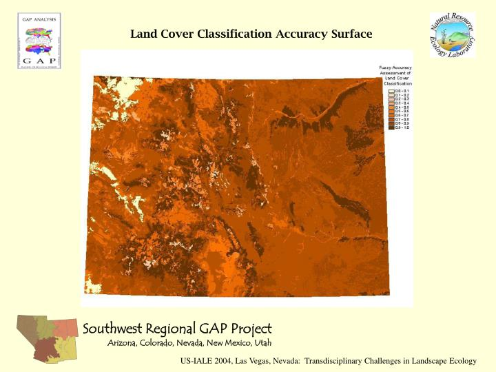 Land Cover Classification Accuracy Surface