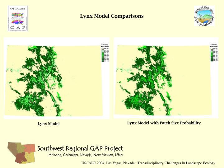 Lynx Model Comparisons