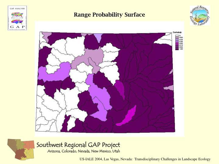 Range Probability Surface