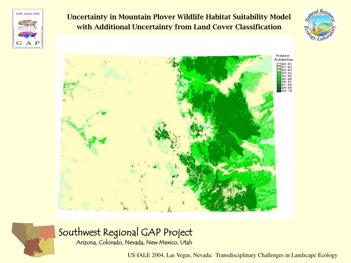 Uncertainty in Mountain Plover Wildlife Habitat Suitability Model with Additional Uncertainty from Land Cover Classification