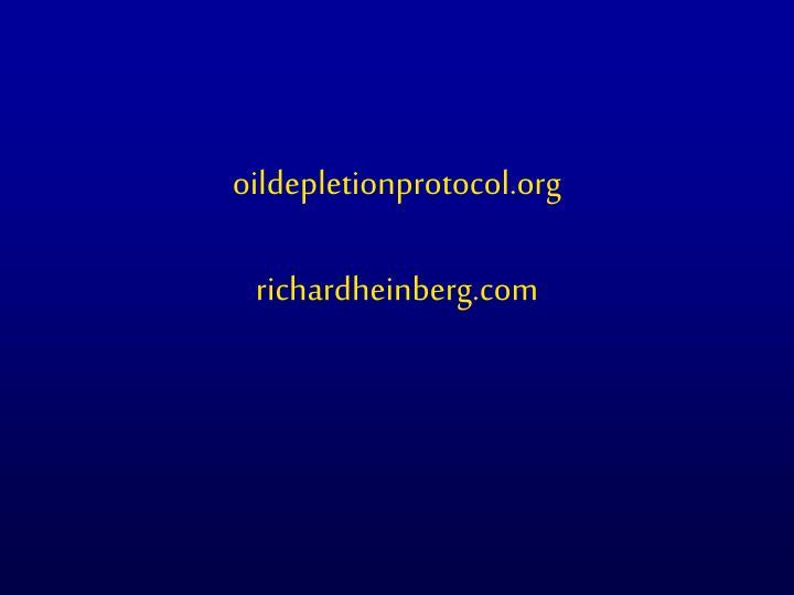 oildepletionprotocol.org