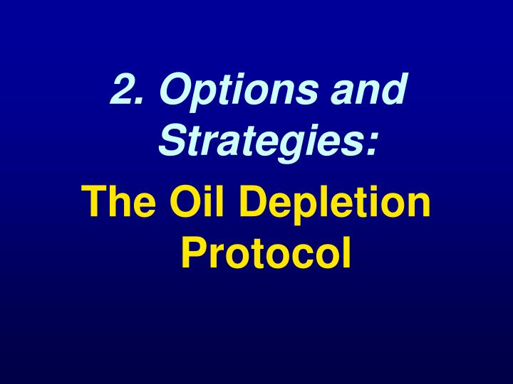 2. Options and Strategies: