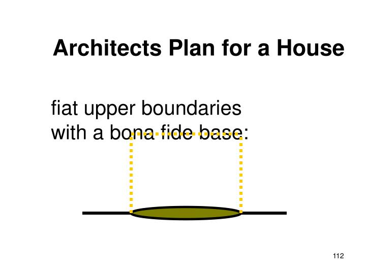 Architects Plan for a House