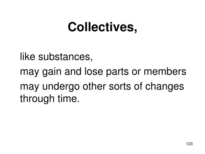 Collectives,