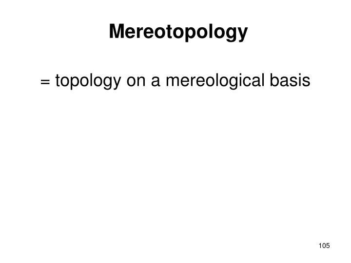 Mereotopology