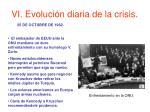 vi evoluci n diaria de la crisis13