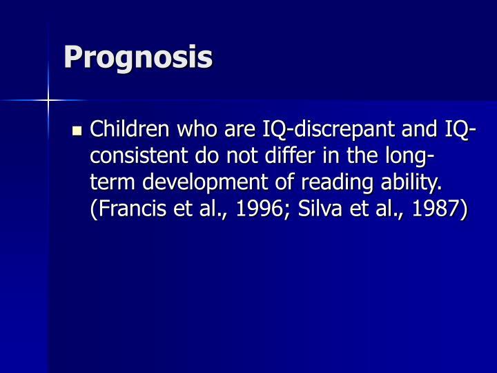 Prognosis