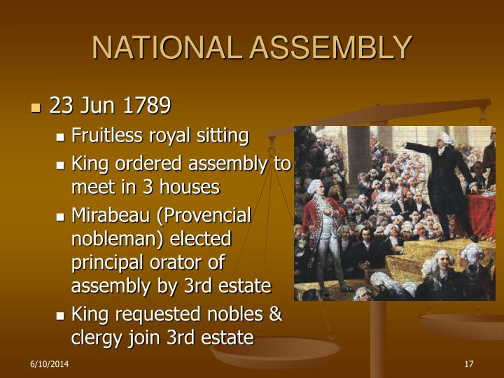 NATIONAL ASSEMBLY