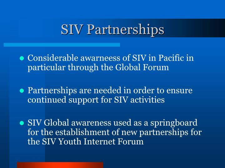 SIV Partnerships