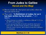 from judea to galilee herod and the magi4
