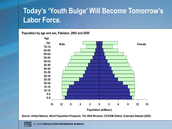 Today's 'Youth Bulge' Will Become Tomorrow's Labor Force.