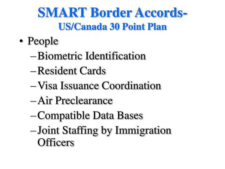 SMART Border Accords-
