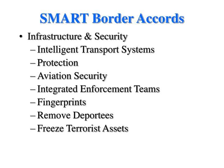 SMART Border Accords