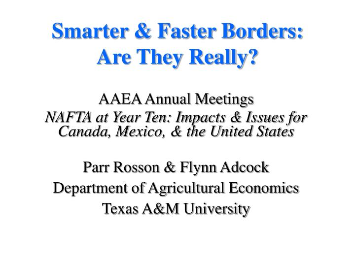smarter faster borders are they really