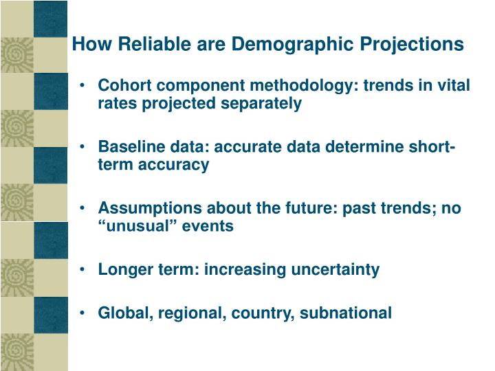 How Reliable are Demographic Projections