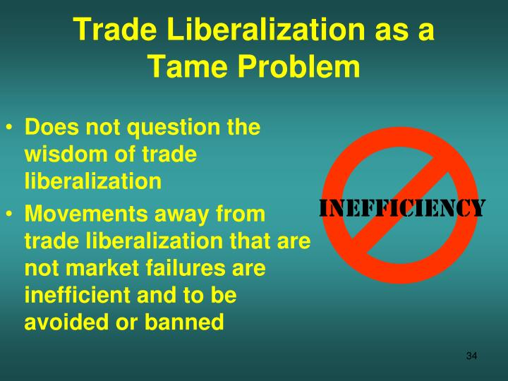 trade liberalization Brookings discussion papers in international economics  regional and multilateral trade liberalization: the effects on trade, investment and welfare.