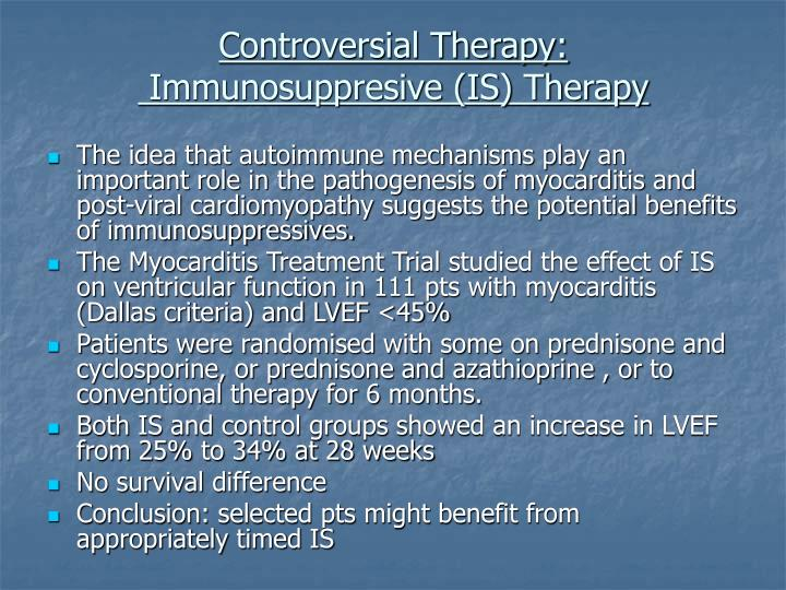 Controversial Therapy: