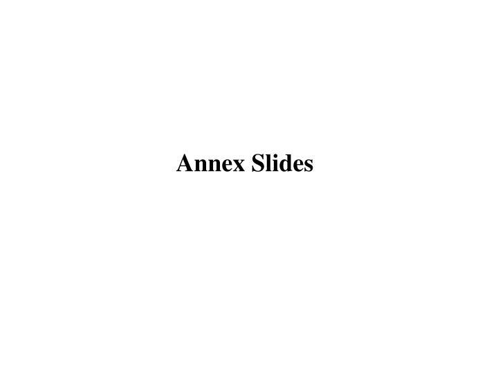 Annex Slides