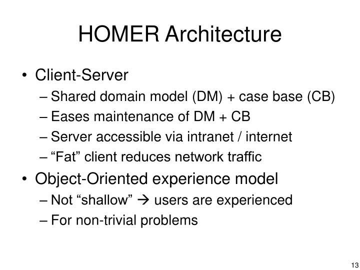 HOMER Architecture
