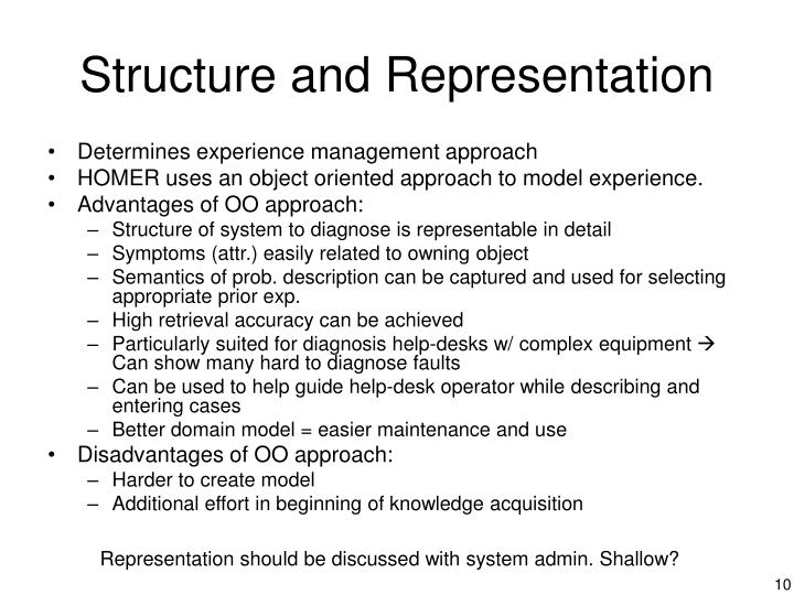 Structure and Representation