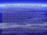 causes of democracy cont d1