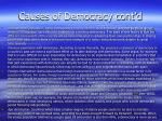 causes of democracy cont d2