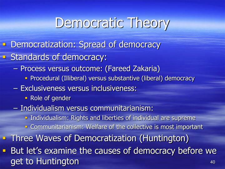 Democratic Theory